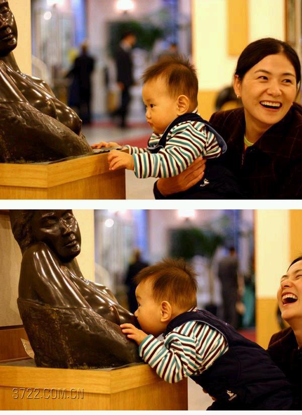 吃奶的孩子 - 香儿 - xianger